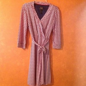 Wrap Dress From Laundry by Shelli Segal XSP